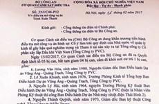 Khởi tố 5 bị can liên quan tới vụ án Trịnh Xuân Thanh