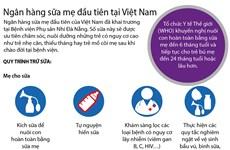 [Infographics] Tìm hiểu ngân hàng sữa mẹ đầu tiên tại Việt Nam