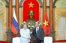 Chủ tịch nước mong muốn Việt Nam-Nga bứt phá về hợp tác kinh tế