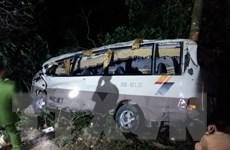 Những thông tin mới nhất về vụ xe khách lao xuống vực ở Lào Cai