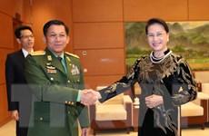 Triển khai hiệu quả các nội dung hợp tác quốc phòng Việt Nam-Myanmar