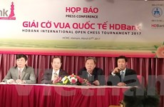 Hơn 230 kỳ thủ của 5 châu lục tham dự Giải cờ vua HDBank 2017