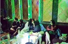 Đột kích quán karaoke The Voice ở Hải Phòng, bắt giữ 19 đối tượng
