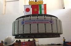 Lắp đặt thành công rotor máy phát dự án Thủy điện Thác Mơ mở rộng