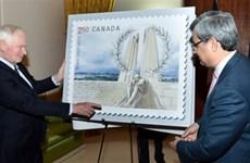 Pháp, Canada phát hành tem về trận chiến Vimy trong Thế chiến 1
