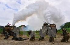 Mỹ và Hàn Quốc diễn tập phá hủy vũ khí hóa học của Triều Tiên