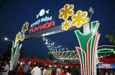 Phú Yên: Chợ đêm Tuy Hòa ế ẩm sau 7 tháng đi vào hoạt động