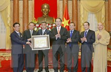 Chủ tịch nước tiếp đoàn Việt kiều và Phật giáo Việt Nam tại Thái Lan