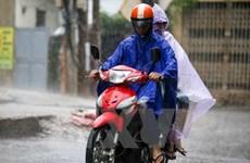 Mưa lớn bất thường giữa mùa khô tại Thành phố Hồ Chí Minh