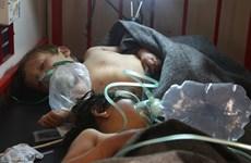 Nga-Thổ thảo luận về vụ tấn công bằng khí độc ở Syria