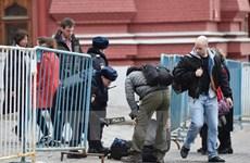 Cảnh sát Nga bắt 2 đối tượng tuyển mộ khủng bố tại St.Petersburg