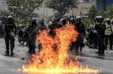 Venezuela bắt giam 117 người biểu tình gây bạo loạn đường phố