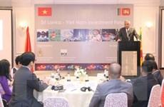 Việt Nam và Sri Lanka tăng cường hợp tác về kinh tế, thương mại