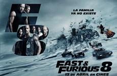 """""""Fast and Furious 8"""" sắp đạt mốc doanh thu 1 tỷ USD trên toàn cầu"""