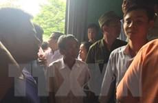 Bắc Giang: Hỗn loạn tại buổi xin lỗi công khai người bị kết án tử hình