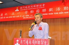 Người Việt tại Macau kỷ niệm 42 năm ngày thống nhất đất nước