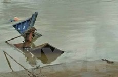 Đồng Nai: Phà vừa rời bến thì lật nghiêng và chìm xuống lòng sông