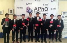 Bảy thí sinh Việt Nam giành giải thưởng Olympic Vật lý châu Á 2017