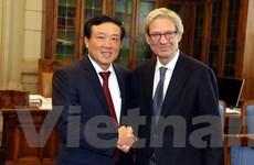 Việt Nam-Italy trao đổi thông tin về hoạt động phòng chống tội phạm