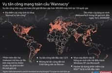 [Infographics] Thông tin cập nhật về vụ tấn công mạng Wannacry