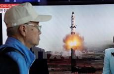Tổng thống Hàn Quốc triệu họp khẩn sau vụ Triều Tiên phóng tên lửa