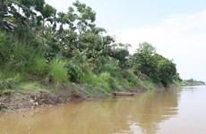 Sạt lở nghiêm trọng bờ sông Thao đe dọa cuộc sống của nhiều hộ dân