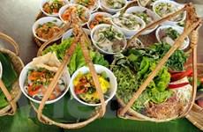 [Photo] Phát thèm với các món ăn tại Liên hoan ẩm thực đất phương Nam
