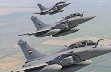 Ai Cập không kích doanh trại khủng bố gần thành phố Derna của Libya