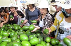 Tưng bừng khai mạc Lễ hội Trái cây Nam Bộ tại TP Hồ Chí Minh