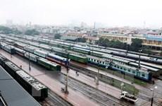 Thời gian đi tàu nhanh Vinh-Hà Nội được rút ngắn còn 5 tiếng rưỡi