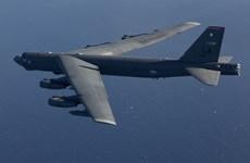 Mỹ điều máy bay ném bom B-52 tham gia huấn luyện ở châu Âu