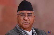 Tân Thủ tướng Nepal Sher Bahadur Deuba tuyên thệ nhậm chức