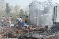Số người chết tại vụ nổ nhà máy pháo hoa ở Ấn Độ đã lên số 25