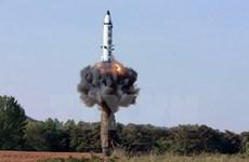 Trung Quốc lên tiếng về vụ phóng tên lửa của Triều Tiên