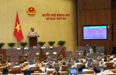 Thông qua Nghị quyết về Chương trình xây dựng luật, pháp lệnh 2018