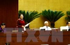 Quốc hội tiến hành chất vấn về 4 nhóm nội dung tại Kỳ họp thứ ba