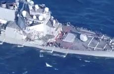 Bảy thủy thủ Mỹ vẫn mất tích sau vụ va chạm với tàu Philippines
