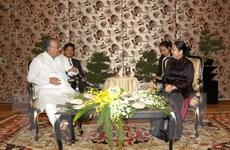 Lãnh đạo Thành ủy TP.HCM tiếp Chủ tịch Đảng Cộng sản Bangladesh