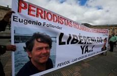 Colombia: Nhóm ELN phóng thích hai phóng viên người Hà Lan