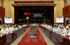 Bế mạc Hội nghị Thành ủy Thành phố Hồ Chí Minh lần thứ 10