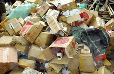 Phát hiện container chứa hàng giả, hàng nhái trị giá hơn 30 tỷ đồng