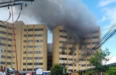 Cháy tòa nhà Bộ Tài chính El Salvador, hàng chục người thương vong