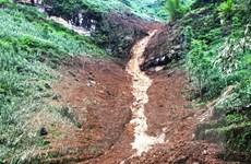Mưa lớn ở Hà Giang: 1 người mất tích, một số tuyến đường bị sạt lở
