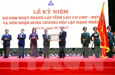 Chủ tịch nước dự lễ kỷ niệm 110 năm ngày thành lập tỉnh Lào Cai