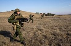 Hơn 3.000 binh sỹ Nga và Tajikistan tập trận quân sự chung