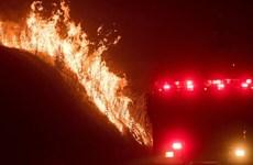 """Mỹ: Cháy dữ dội tại California, hơn 30.000ha chìm trong """"biển lửa"""""""