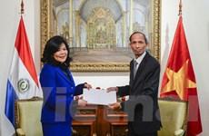 Việt Nam thúc đẩy quan hệ với Paraguay trong nhiều lĩnh vực