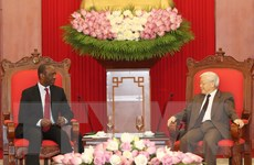 Tổng Bí thư Nguyễn Phú Trọng tiếp Thủ tướng Cộng hòa Mozambique