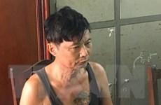 Bắt quả tang một đối tượng thuê taxi vận chuyển trái phép heroin