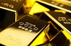 Giá vàng thế giới giảm xuống mức thấp nhất trong vòng hai tuần